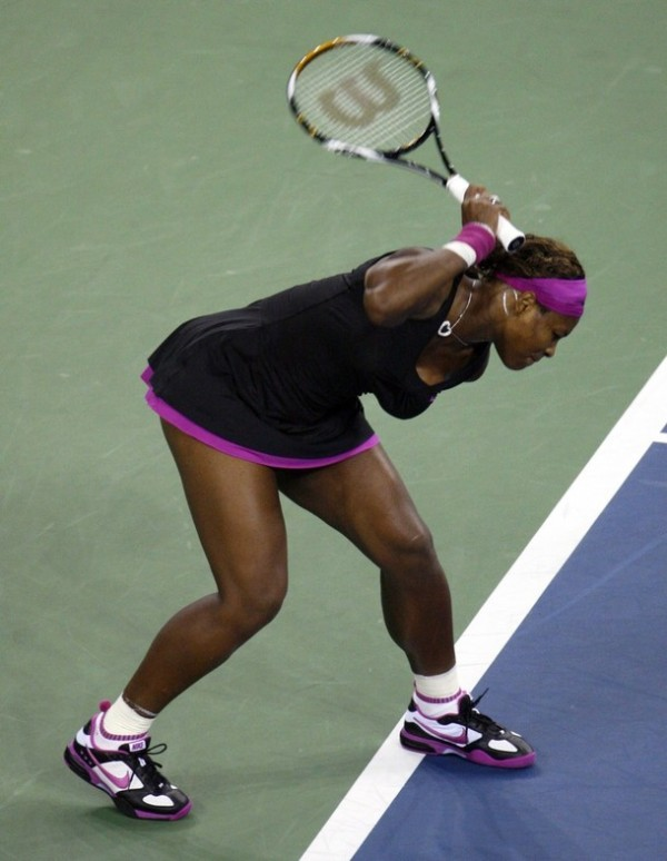 serena throws her toys